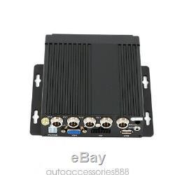 12V Car Mobile Night Vision Surveillance DVR Digital IR Video Recorder Cameras