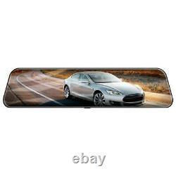 12 inch Android 8.1 4G HD Car DVR GPS Nav Bluetooth Rearview Mirror Dash Cam