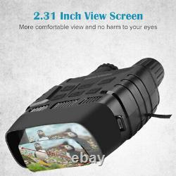 32GB Video Digital IR Night Vision Hunting Binoculars Scope CAMERA Zoom Recorder