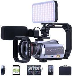 4K UHD Digital Video Camera