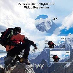 4K Video Camera Ultra HD Camcorder 48.0MP IR Night Vision Digital Camera (V4)