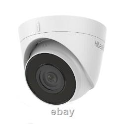 4k Hikvision Ip Poe 8mp Hilook Camera Cctv Built In MIC Dome Turret Night Vision