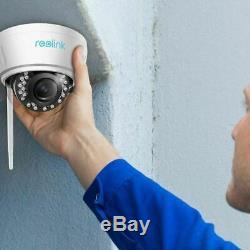 5MP Wireless WIFI IP Camera Autofocus Zoom Home Security Camera Reolink RLC-422W