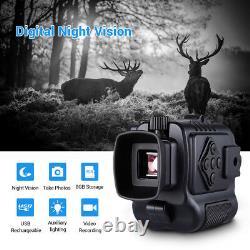 5X Digital Infrared Night Vision Monocular Auto IR Wild Scouting Riflescope UK