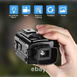 5x18mm Digital Monocular Infrared 8GB DVR IR Night Vision Telescope Portable USA