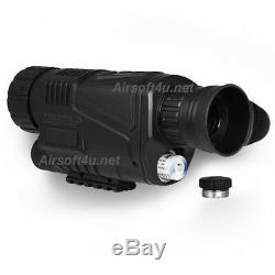 5x40 Infrared IR Digital 1.44 LCD Monocular Zoom Night Vision Scope Video Photo