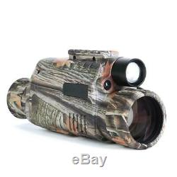 5x40 Infrared IR Digital Night Vision Hunting Monocular Telescope Image Video