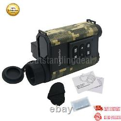 6X Hunting Binocular Laser Range Finder Digital Night Vision IR NV Telescope os1