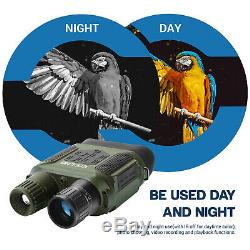 7X31mm Digital Night Vision Binocular Scope with 2 TFT LCD and 32GB TF Card