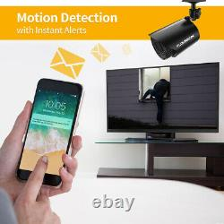 8CH Full 1080P Security Camera 5 in 1 Digital Video Recorder Night Vision System