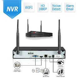 ANRAN 1080P Security Camera System 1TB Hard Drive 8CH Home Wireless WiFi IR CTTV