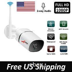 ANRAN Wireless Audio Security Camera System Home 2MP Outdoor CCTV NVR IR Night