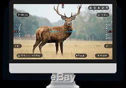 ATN X-Sight II Rifle Scope 5-20x Smart HD Digital Night Vision DGWSXS520Z NEW
