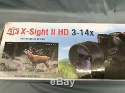 ATN X-sight II Smart HD Digital Night Vision 3-14x Rifle Scope DGWSXS314Z
