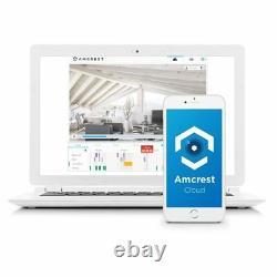 Amcrest 1080P ProHD Black IP Security Surveillance HD Camera Wireless 3-Pack