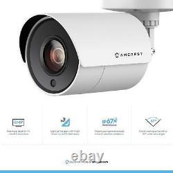 Amcrest 4K UltraHD 4CH DVR Security 8MP Camera System with 2TB HDD 4 X 4K Cameras