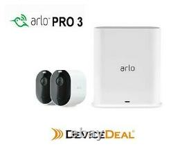 Arlo Pro 3 2K QHD Wire-Free Security 2-Camera System VMS4240P AU Version
