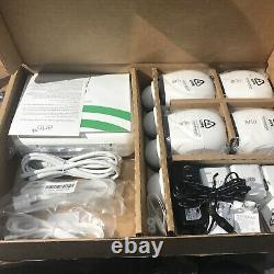 Arlo Pro 4 Camera Security System With Base Station Rechargeable Cameras New