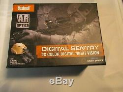 BUSHNELL DIGITAL SENTRY 2x COLOR NIGHT VISION with helmet/rifle mount NEW