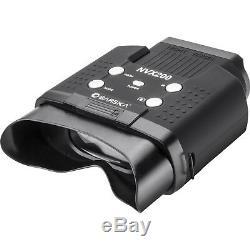 Barska NVX200 Night Vision Infrared Illuminator Digital Binoculars BQ12996