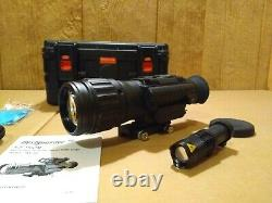 Bestguarder 4.5-36x50 digital day and night rifle scope night vision