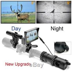 Bestsight DIY Digital Night Vision Scope For Rifle Hunting With Camera 5 Port