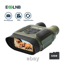 Binocular Night Vision 7X31 IR Camera Video With 2 LCD Hunting Scope 400m/1300ft
