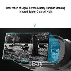 Binocular Night-Vision Telescope, 720P HD Digital Infrared Hunting with 2.3X8D1