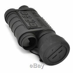 Bushnell 6x50 Equinox Z Digital Night Vision Monocular, Black, 260150