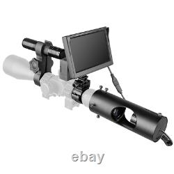 Clear Vision Scope PRO Digital Night Vision Optics INFRARED DAY & NIGHT