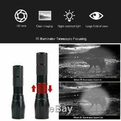 DIY Digital Night Vision Scope for Rifle Hunting w Camera 5 Portable Screen