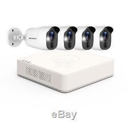 DVR HD 1080P 4 CH 4 Cameras Home Security Surveillance Camera System 1TB HDD USA