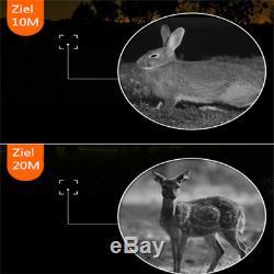 Digital 5x40 IR Night Vision Monocular 200m Zoom Hunting Camera Video Recorder