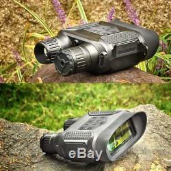 Digital Binocular IR Night Vision Illuminator Camera Optical Zoom 7X Wild Life