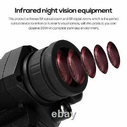 Digital HD Infrared Night Vision Scope IR Monocular Device Outdoor Hunting E4W0