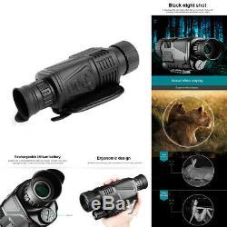 Digital Infrared Dark Night Vision 5X40mm Monocular 200m Telescope Scope Hunting