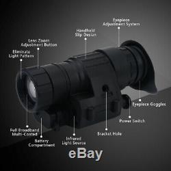 Digital Infrared IR HD Monocular Helmet Telescope Night Vision Device Hunting