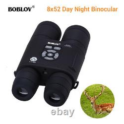 Digital Night Vision Binocular 8X52 355PPI with APM Function Infrared IR Camera