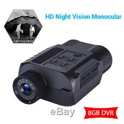 Digital Night Vision Binocular With 8GB DVR Scope For Hunting Scouting Game
