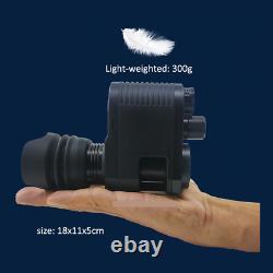Digital Night Vision Rifle Scope Hunting Sight Infrared IR HD Camera DVR Compact
