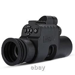 Digital Night Vision Rifle Scope Infrared 850nm LED IR Torch Hunting Monocular