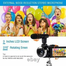 Digital Video Camera 42MP 2.7K Camcorder Night Vision FHD 1080P Vlogging Youtube