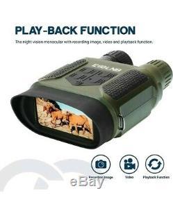 ESSLNB Night Vision Binoculars 1300ft Digital Night Vision Scope 7x31 Infrared