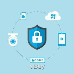 EZVIZ TRIPLE HD 3MP BD-1G38B2 16CH 2TB DVR Smart Home Security Cameras System