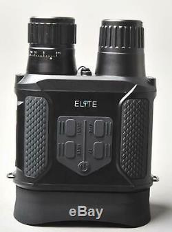 Elite Night Vision 400m 4x Optical 2x Digital Day 850nm NV IR Night LCD Viewer