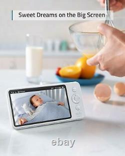 Eufy Security 5 Wireless Video Baby Monitor PT Camera 2-Way Audio Night Vision