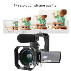 HDR-AE8 4K HD 3.0 inch Touch Screen 16X WIFI Digital Video Camera Night Vision