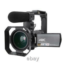 HDR-AE8 4K HD 3.0inch 16X WIFI Digital Video Camera Night Vision Camcorder FG