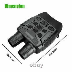 HD Digital Night Vision CAMERA Infrared Hunting Binoculars Scope IR Video Zoom V