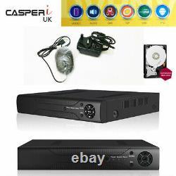 H. 265 3in1 DVR+AHD+NVR 4ch DVR Cctv Security Digital Video Recorder Hybrid HDMI